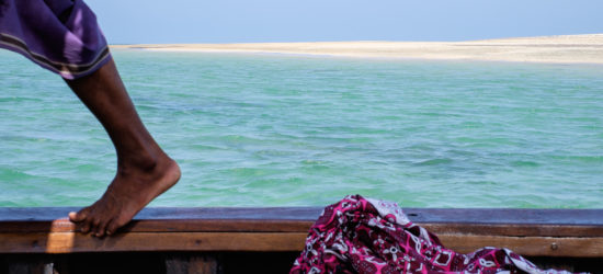 A Day at Sea on a Lamu Dhow