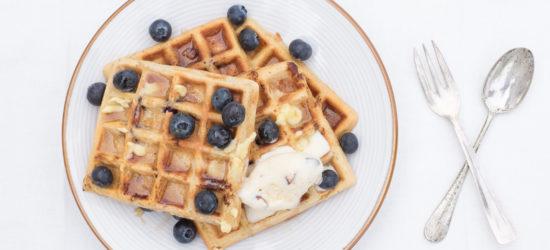 Blueberry Tsingtao B33R Waffles