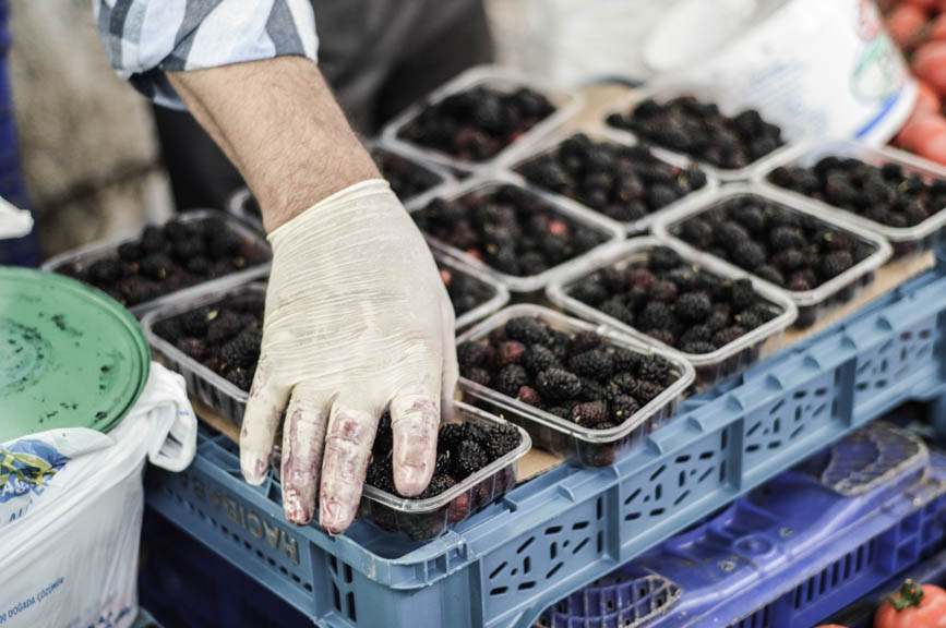Fethiye mulberries