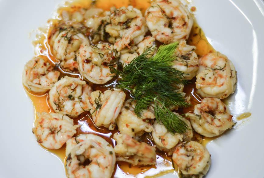 Fethiye prawn recipe