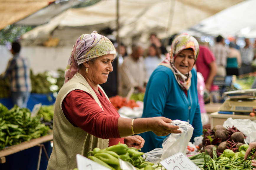 Fethiye veg ladies