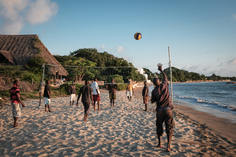 Lamu Tamu beach volley