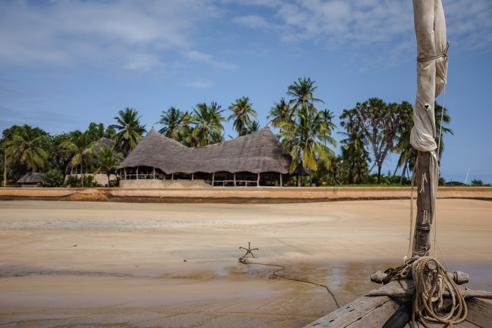 Lamu Tamu beach