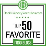 Top 50 favourite food blogs