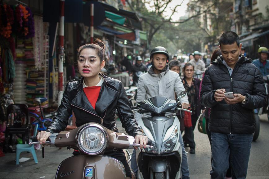 Vietnam Longing red lipstick