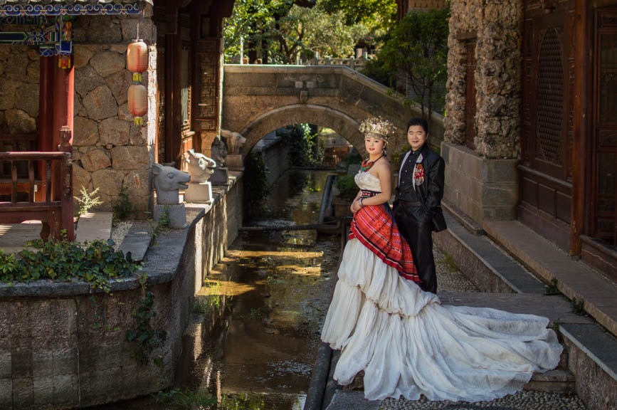 china kitsch wedding