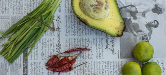 Burmese Rice Paddy Guacamole