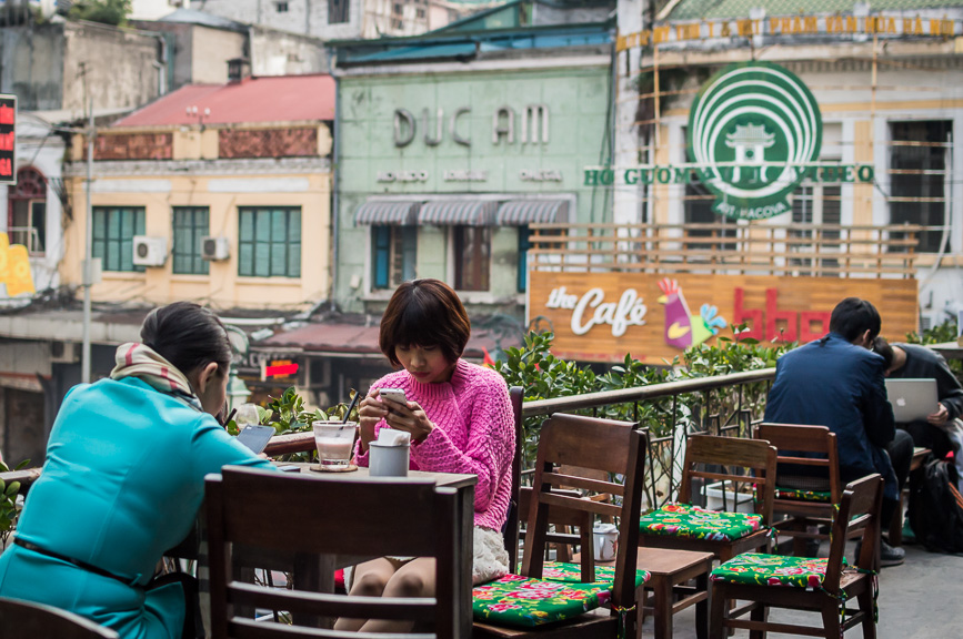 hanoi coffee terrace