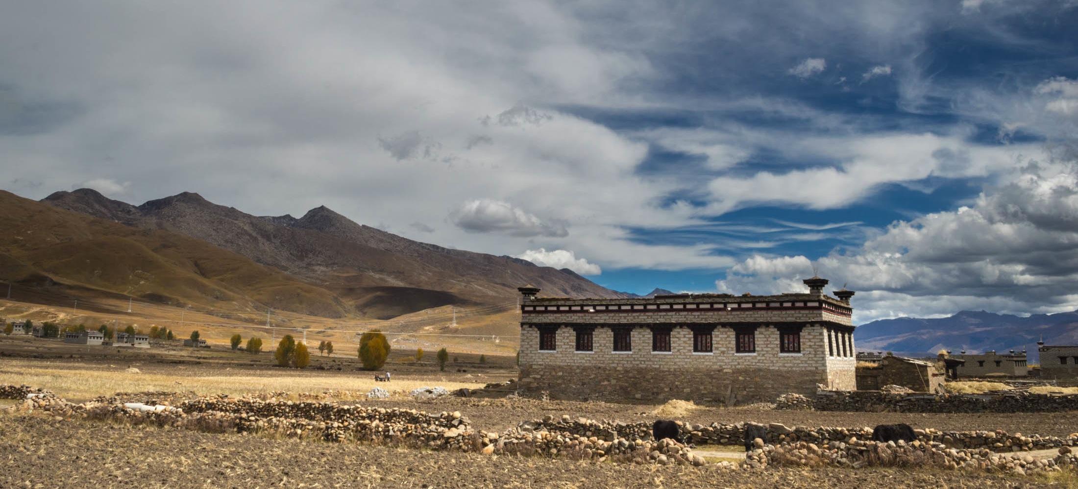 "Lunch at a Tibetan ""Castle"" in Daocheng"