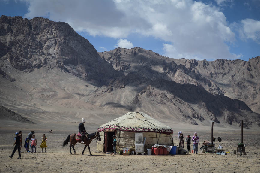 yurts and horses