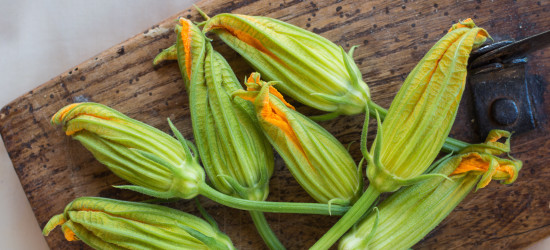 Zucchini Blossoms à la Provençale
